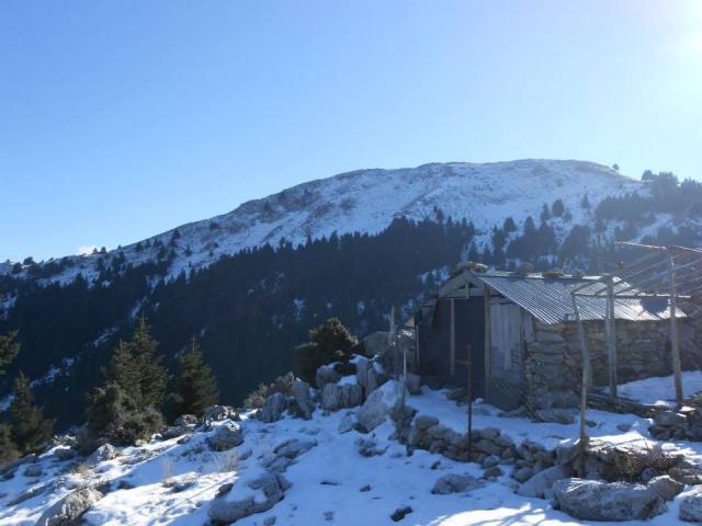 Ανάβαση στο Σκουτέλι στις 15 Δεκεμβρίου 2013