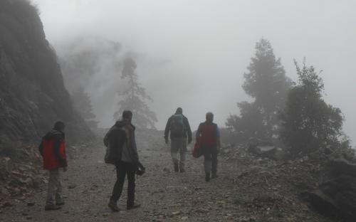 Περπατώντας στην Ομίχλη
