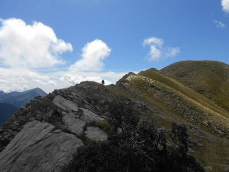 Περπατώντας στην κορυφογραμμή