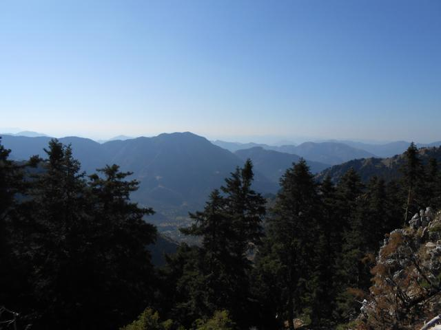 Θέα από το Λεχουρίτικο Διάσελο