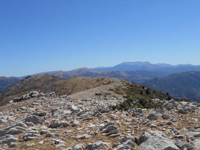Θέα από το Κιβούρι προς το Χελμό