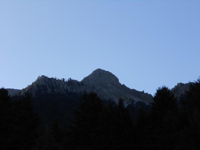 Η κορυφή Δόντι (1822 μ.)