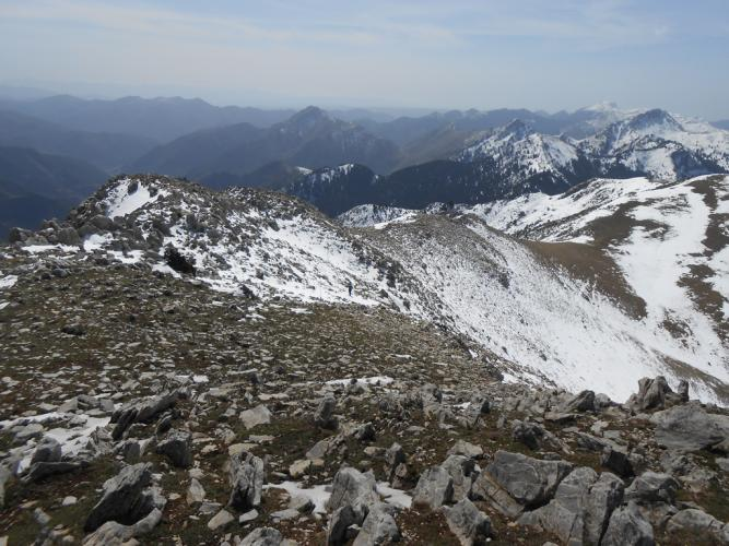 Θέα από την κορυφή